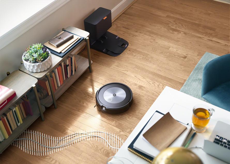 iRobot Roomba j7+ technologie proti zamotání kabelů