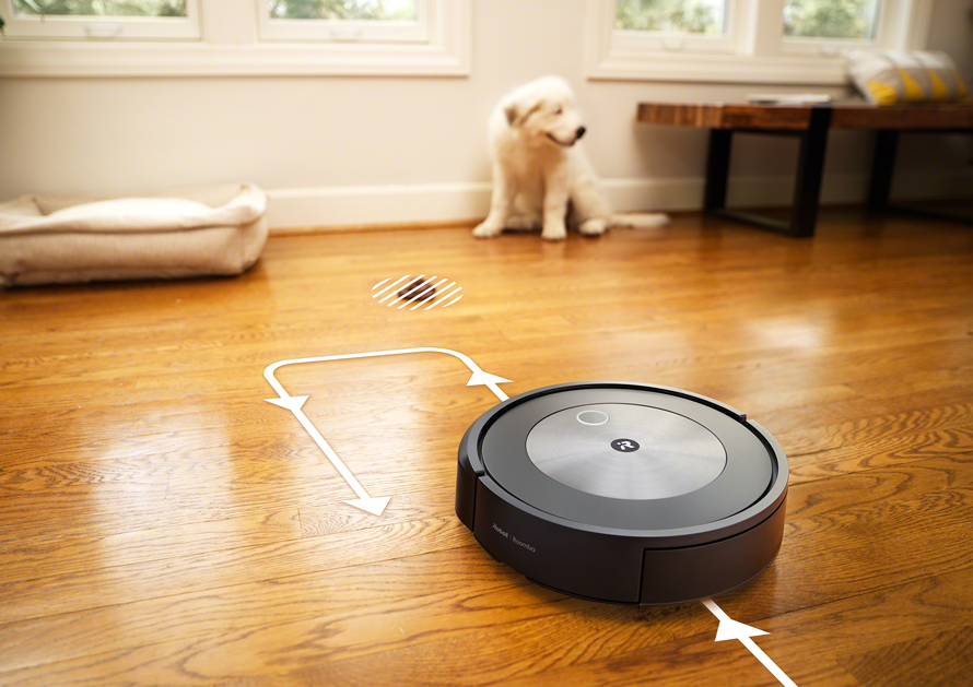 iRobot Roomba j7 navigace PrecisionVision