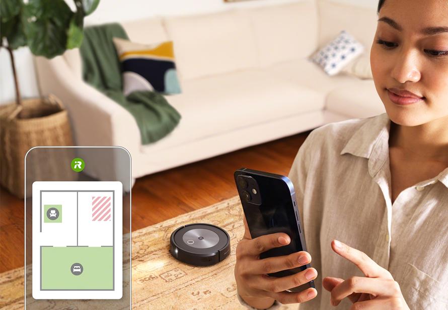 iRobot Roomba j7 mobilní aplikace