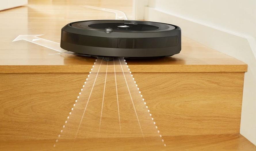 roomba schody senzory