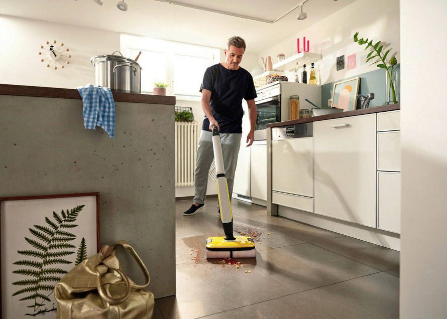 Kärcher FC 7 Cordless představení podlahové myčky