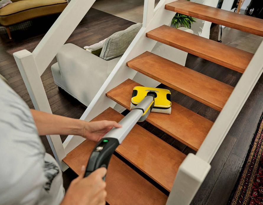 Kärcher FC 7 Cordless různé režimy čištění