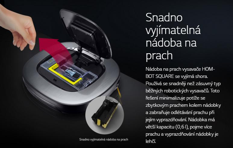 vysavač LG Hom-Bot VR65710LVMP