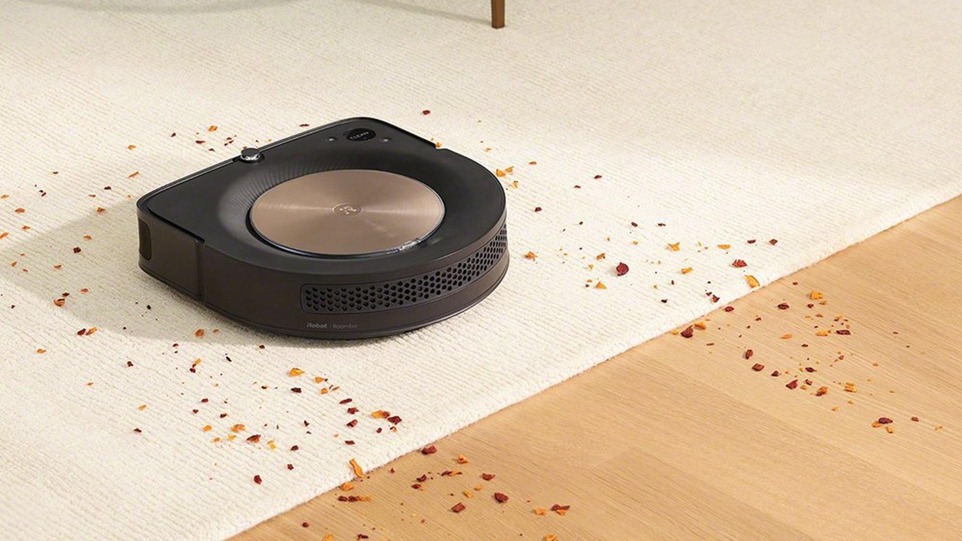 iRobot Roomba s9+ až 40x silnější sání než série 600