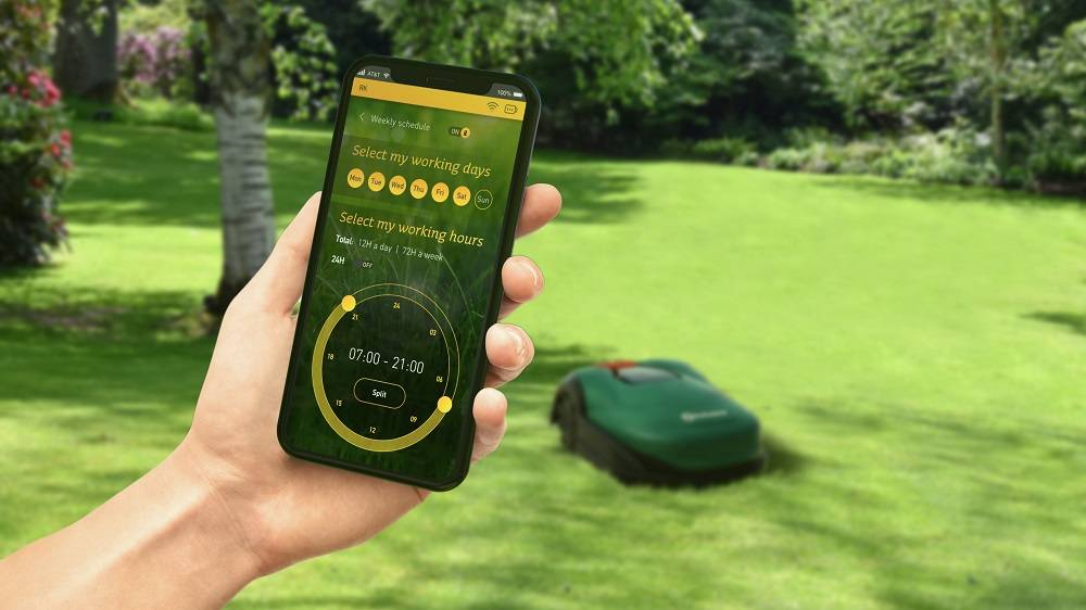 robomow rk1000 PRO mobilní aplikace
