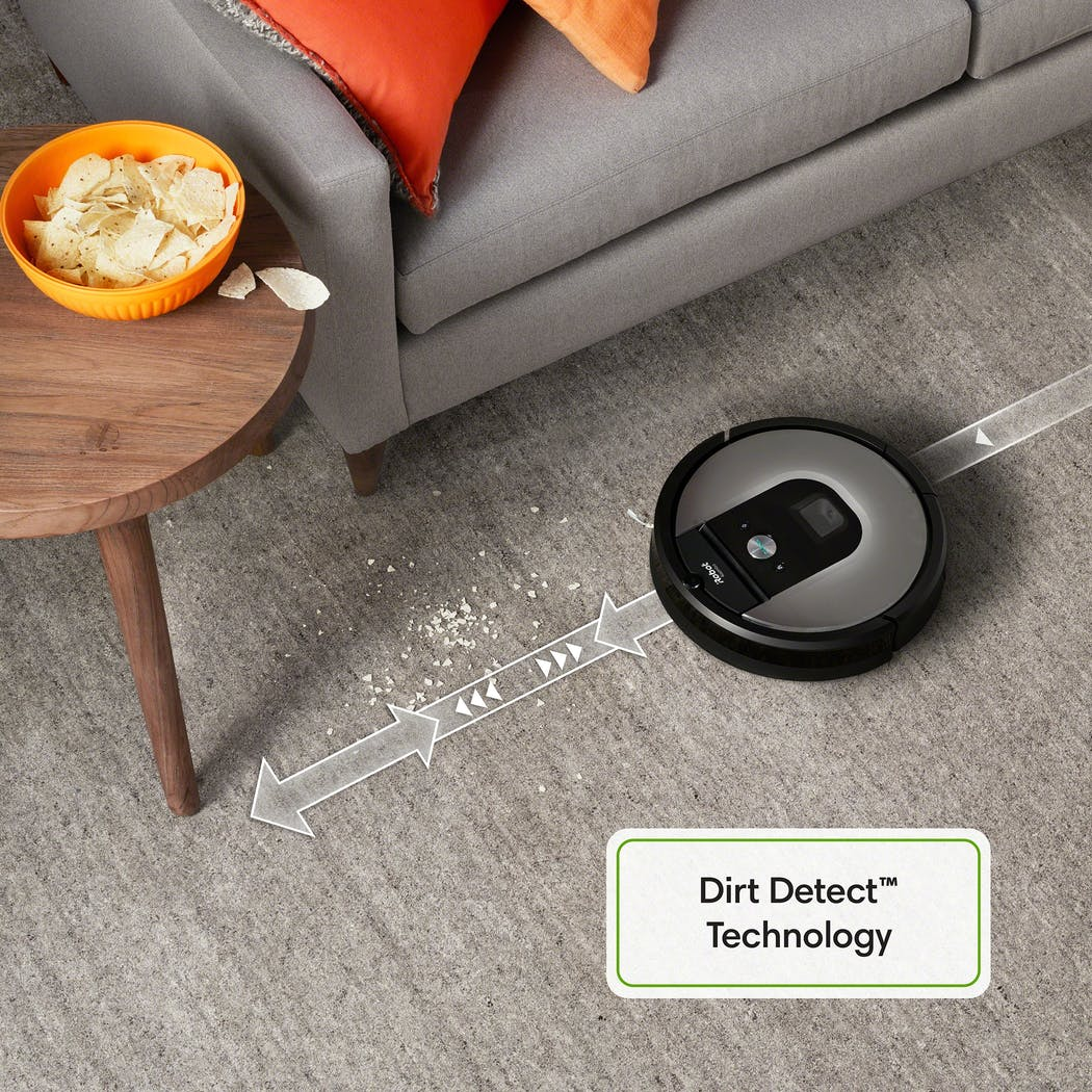 irobot roomba 975 dirt detect