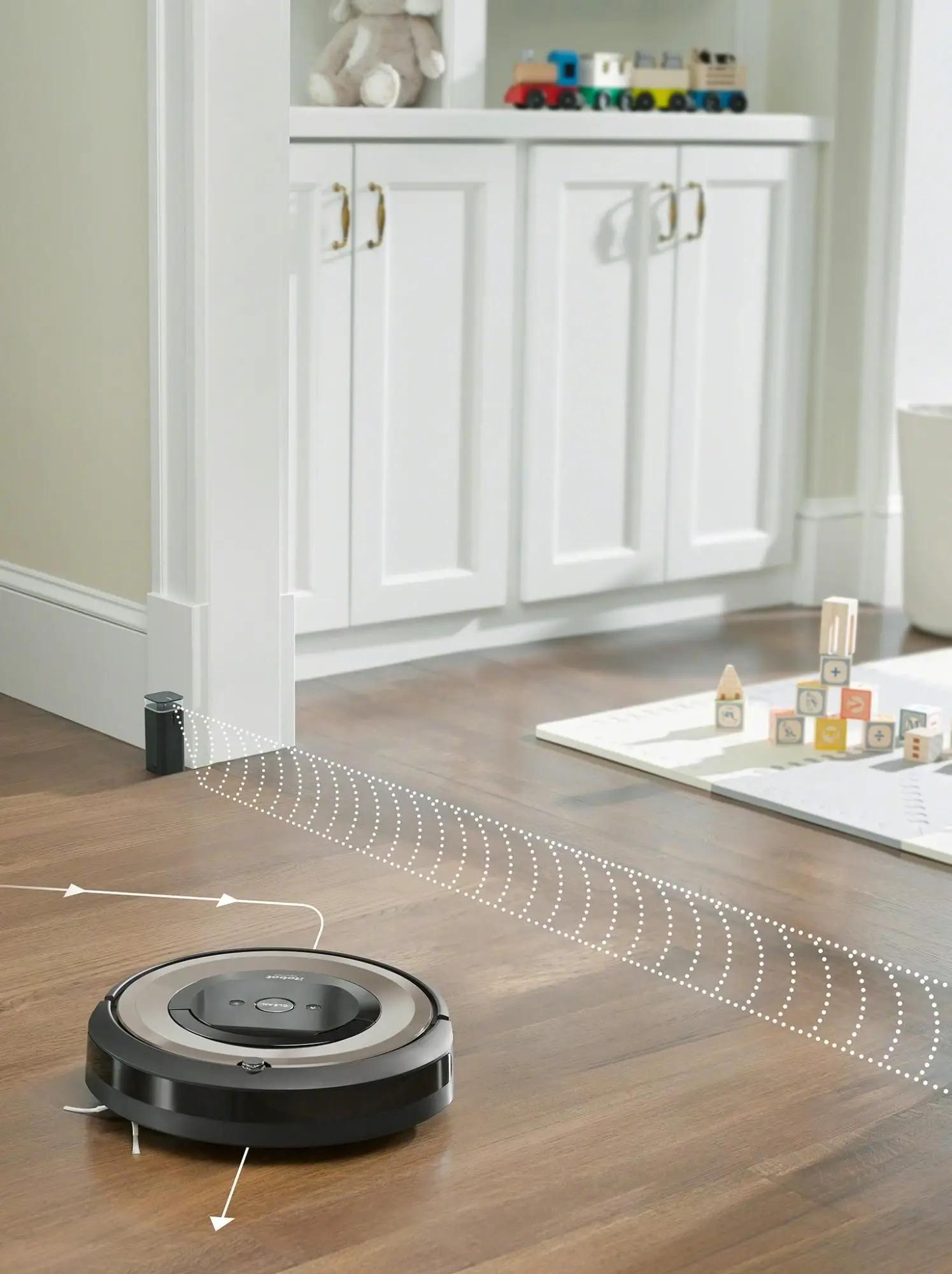 iRobot Roomba e6 Systém Funkce virtuální zdi Halo