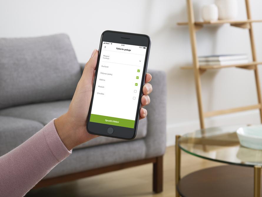 iRobot Roomba s9 Aplikace iRobot HOME