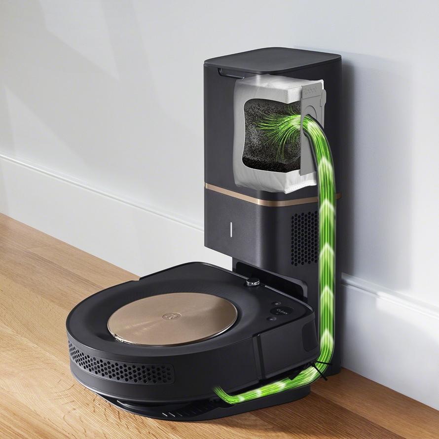 iRobot Roomba s9+ Automatické vyprázdnění odpadní nádobky