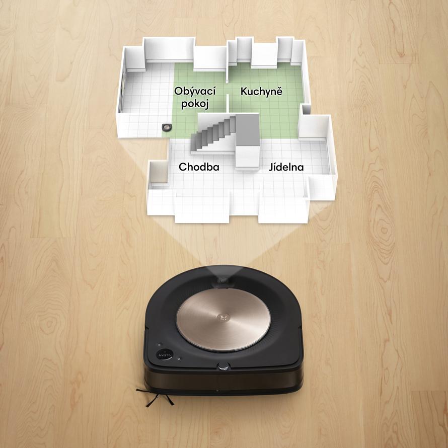 iRobot Roomba s9  Inteligentní mapováni Imprint