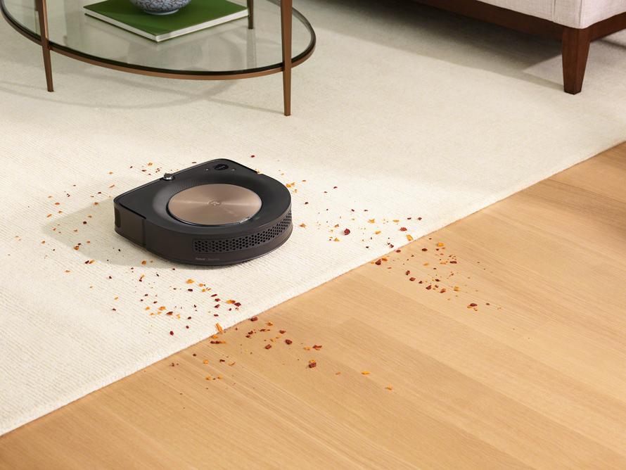 iRobot Roomba s9 zvýšený výkon na kobercích