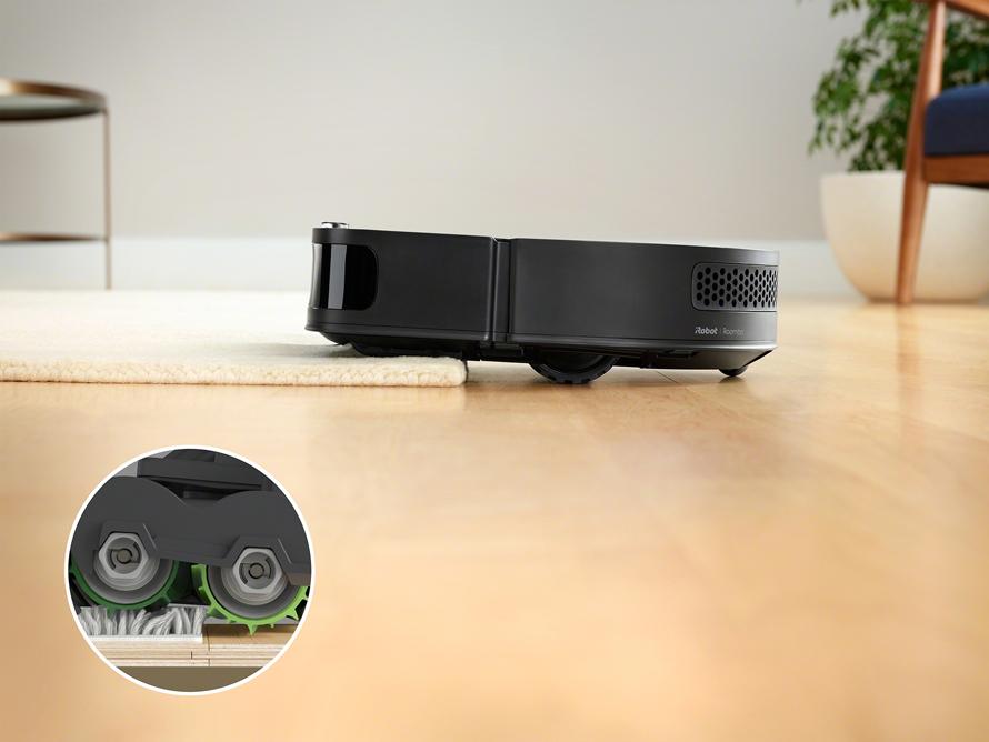 iRobot Roomba s9 široké rotační kartáče