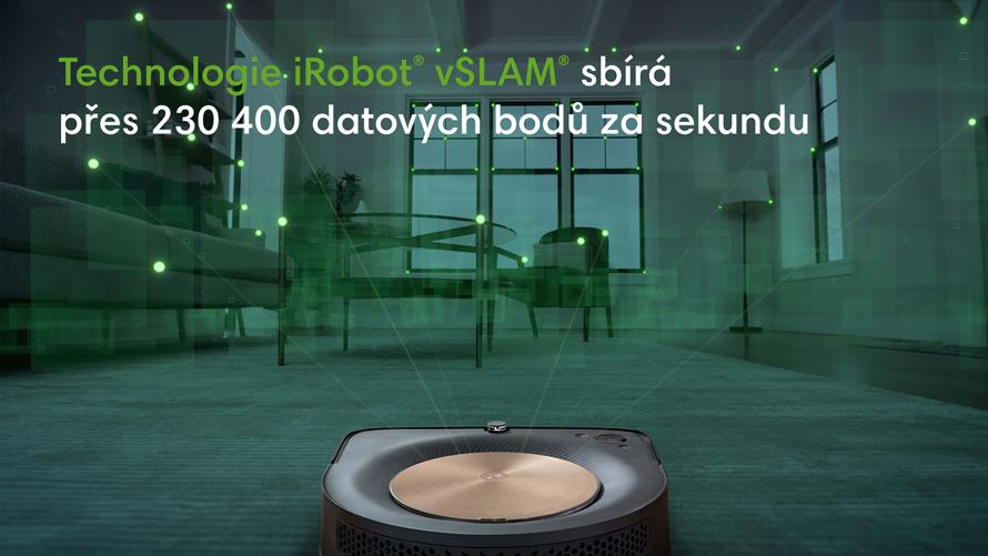 iRobot Roomba s9 navigace vSLAM