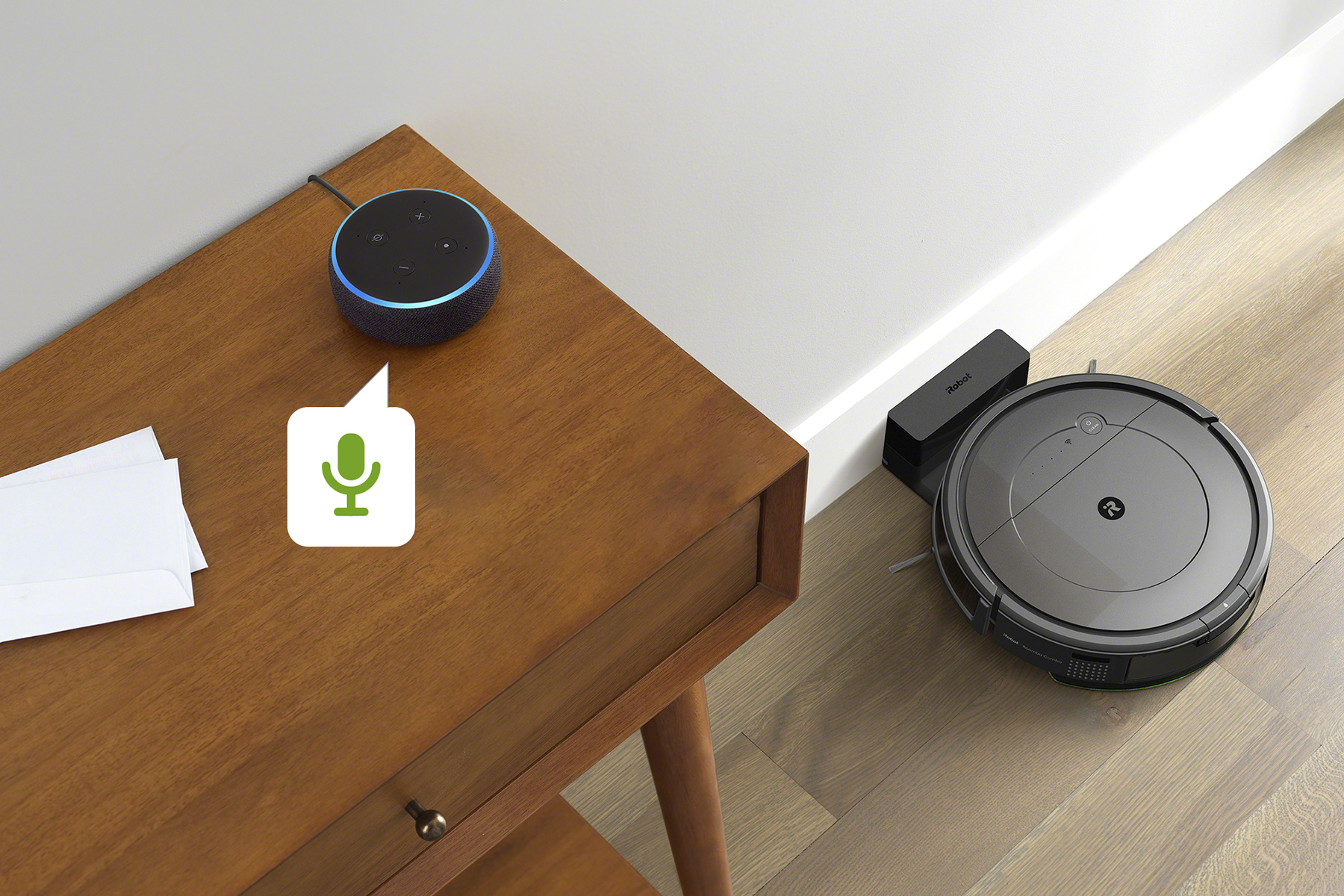 iRobot Roomba Combo Hlasový asistent