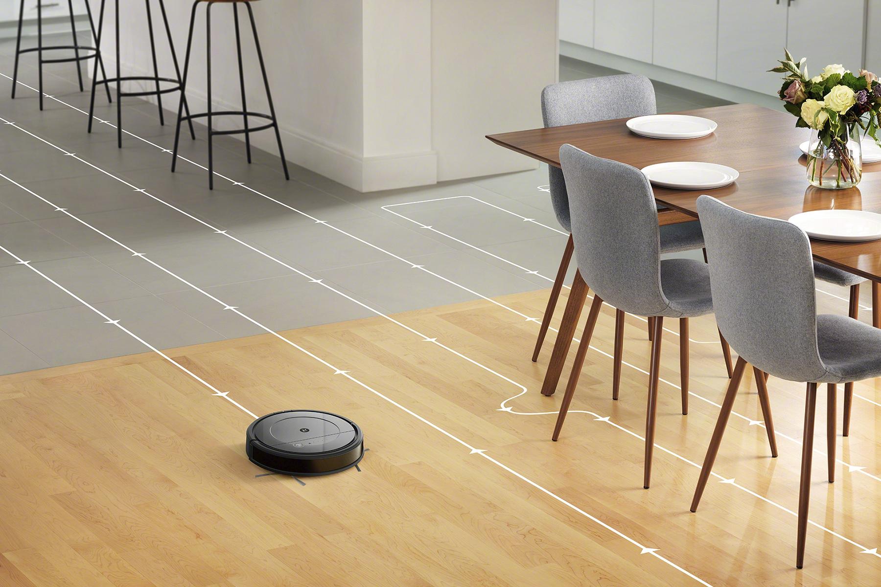 iRobot Roomba Combo gyroskopická navigace