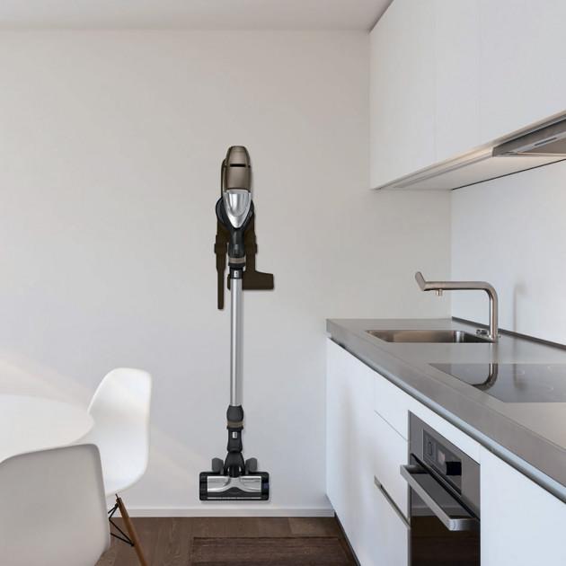 integrovaný ruční vysavač rowenta rh9051wo úchyt na stěnu