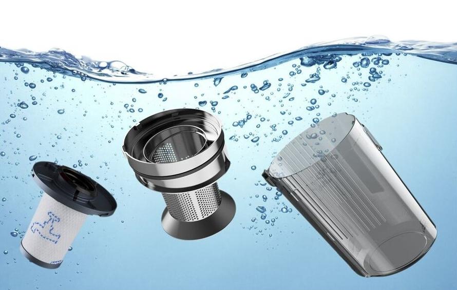 Rowenta RH9990WO mytí filtrů