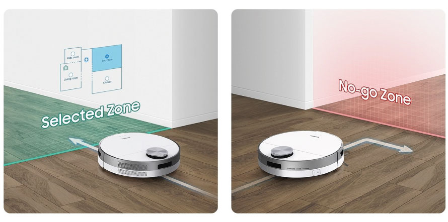 Samsung Jet Bot VR30T80313W/GE funkce