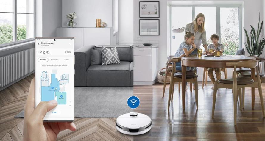 Samsung Jet Bot VR30T80313W/GE wifi