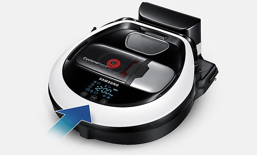 Samsung Powerbot VR20M707CWD zlatý