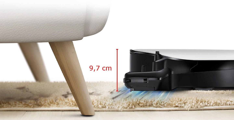 robotický vysavač samsung VR20M707CWD