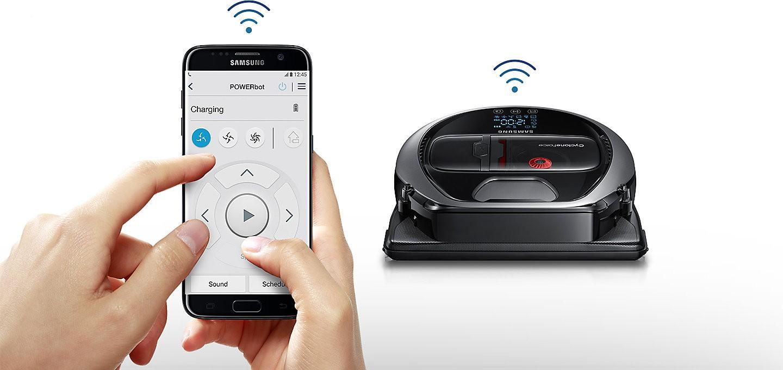 Samsung Powerbot robot s wifi ovládáním telefon
