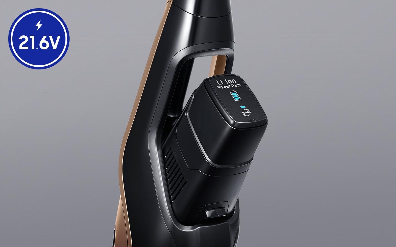 Samsung VS03R6523J1/GE dlouhá výdrž baterie