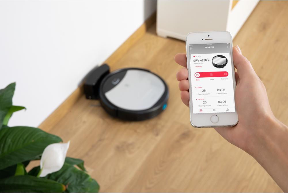Sencor SRV 4250SL Užijte si ovládání prostřednictvím mobilní aplikace