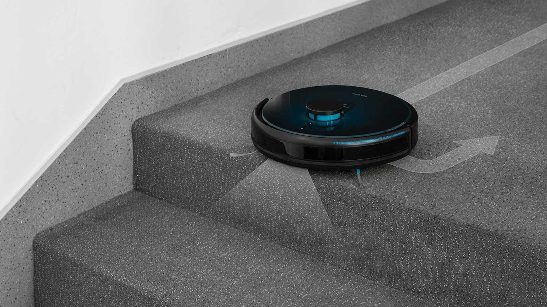 Sencor SRV 9250BK S infračervenými senzory nespadnu ze schodů