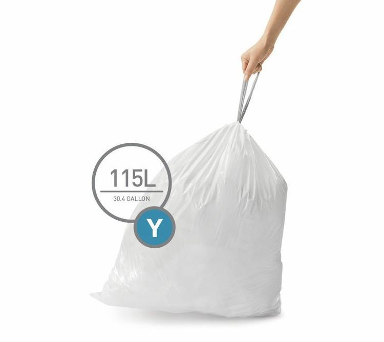 Pytle typu Y do odpadkových košů Simplehuman