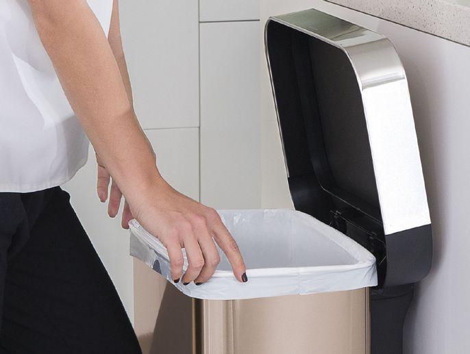 pytle typu H pro odpadkové koše Simplehuman