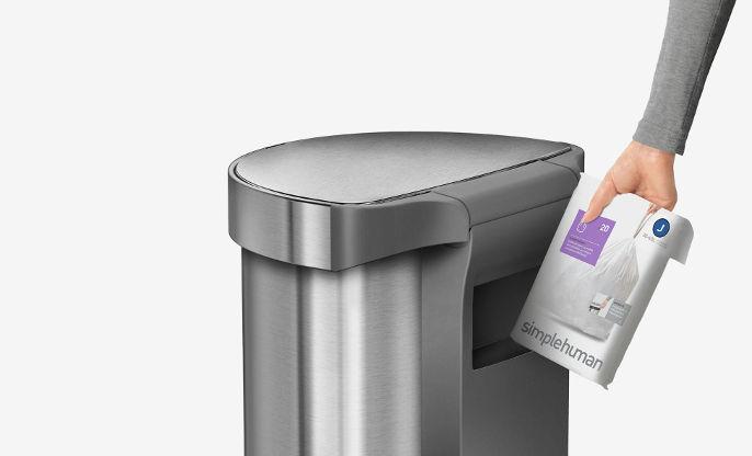 odpadkové pytle typu H - Simplehuman