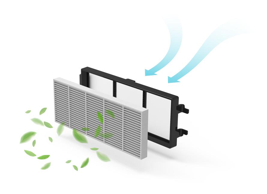Symbo LASERBOT 650 - HEPA filtrace