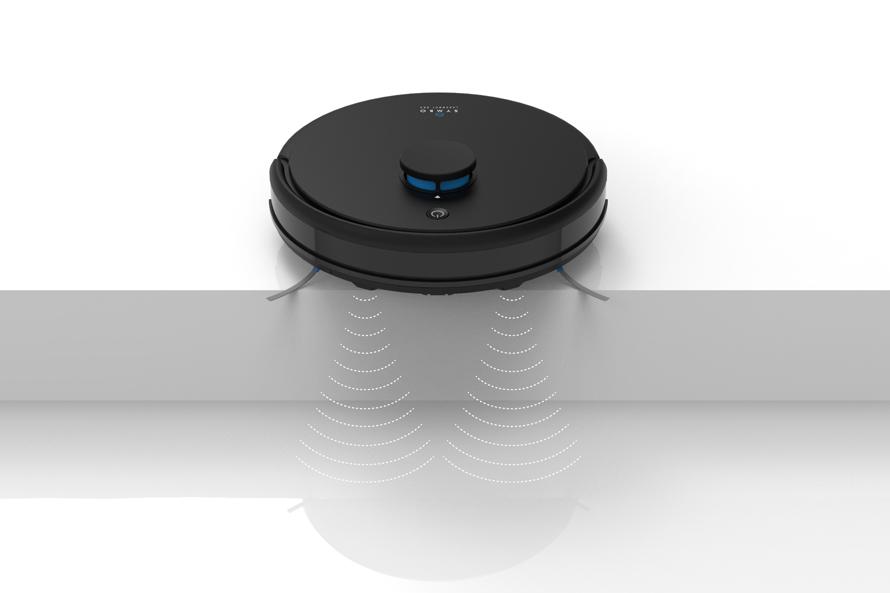 Symbo LASERBOT 650 - Protipádové senzory