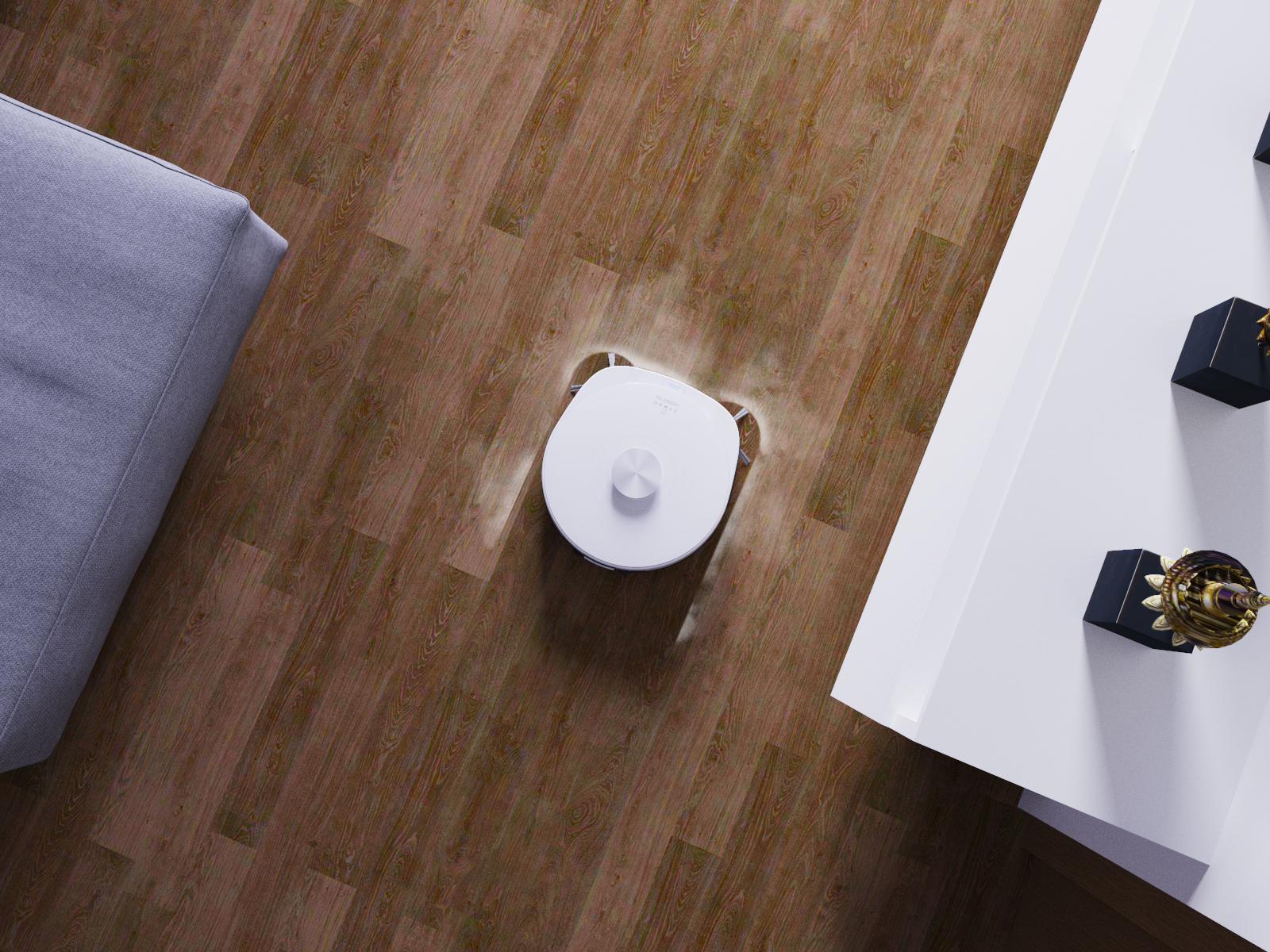 robotický vysavač symbo laserbot 750 bílý