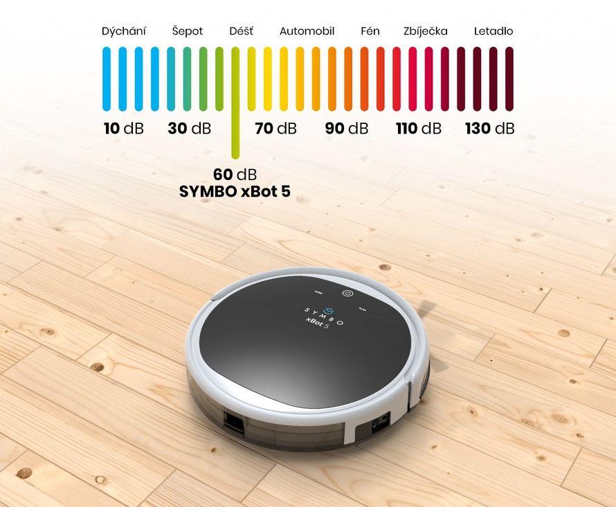 robotický vysavač symbo xbot 5