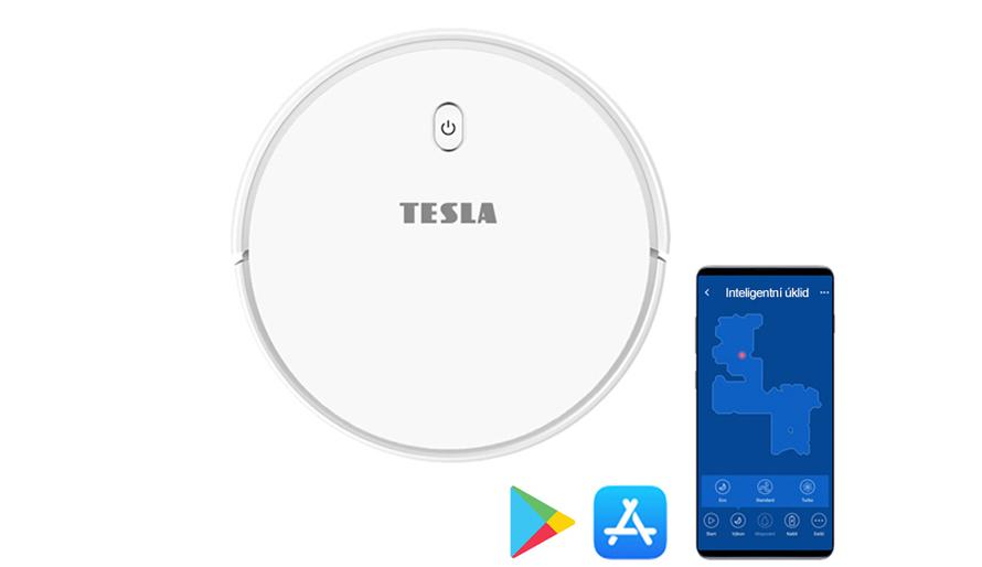 Tesla RoboStar iQ300 - aplikace ve slovenském jazyce