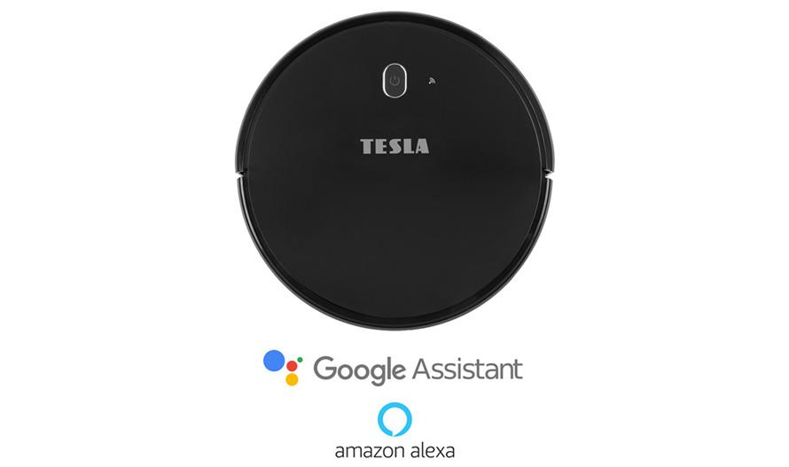 Tesla RoboStar iQ300 Black- Podpora hlasových asistentů