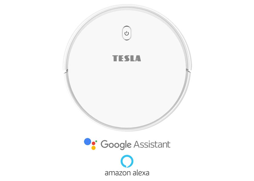 Tesla RoboStar iQ300 - Podpora hlasových asistentů