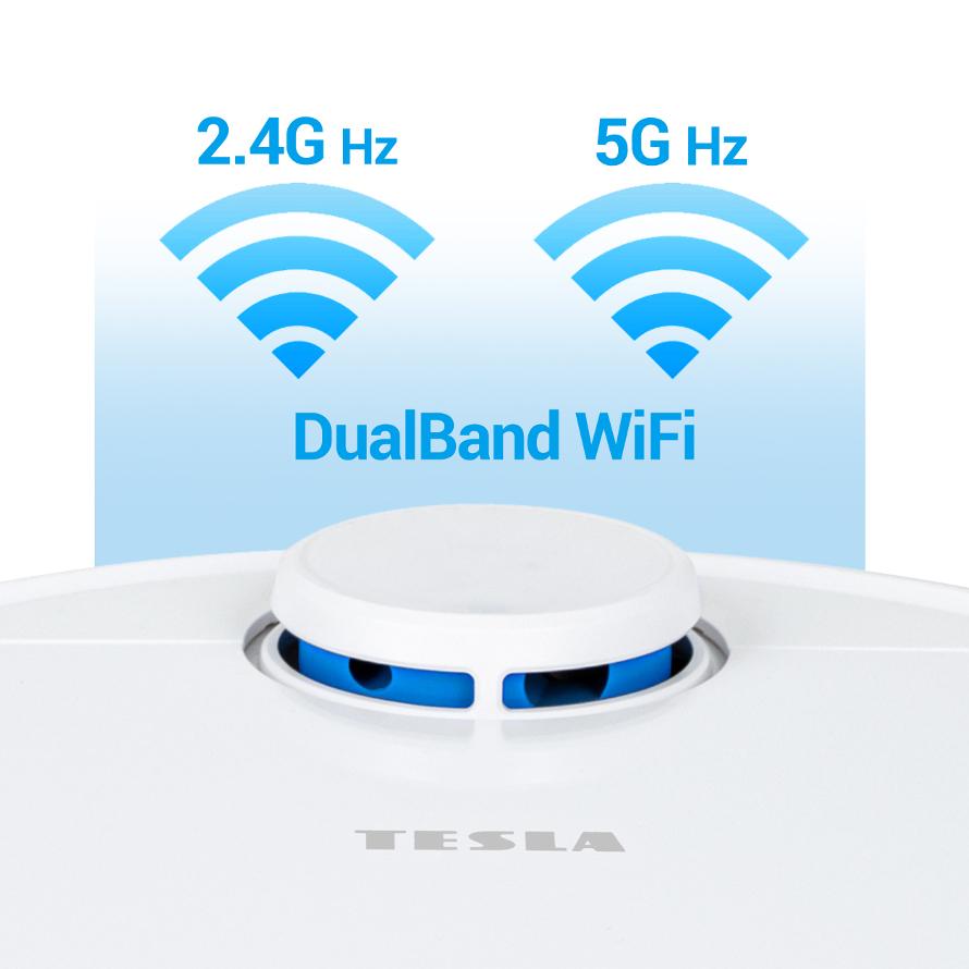 Tesla RoboStar iQ600 dual wifi
