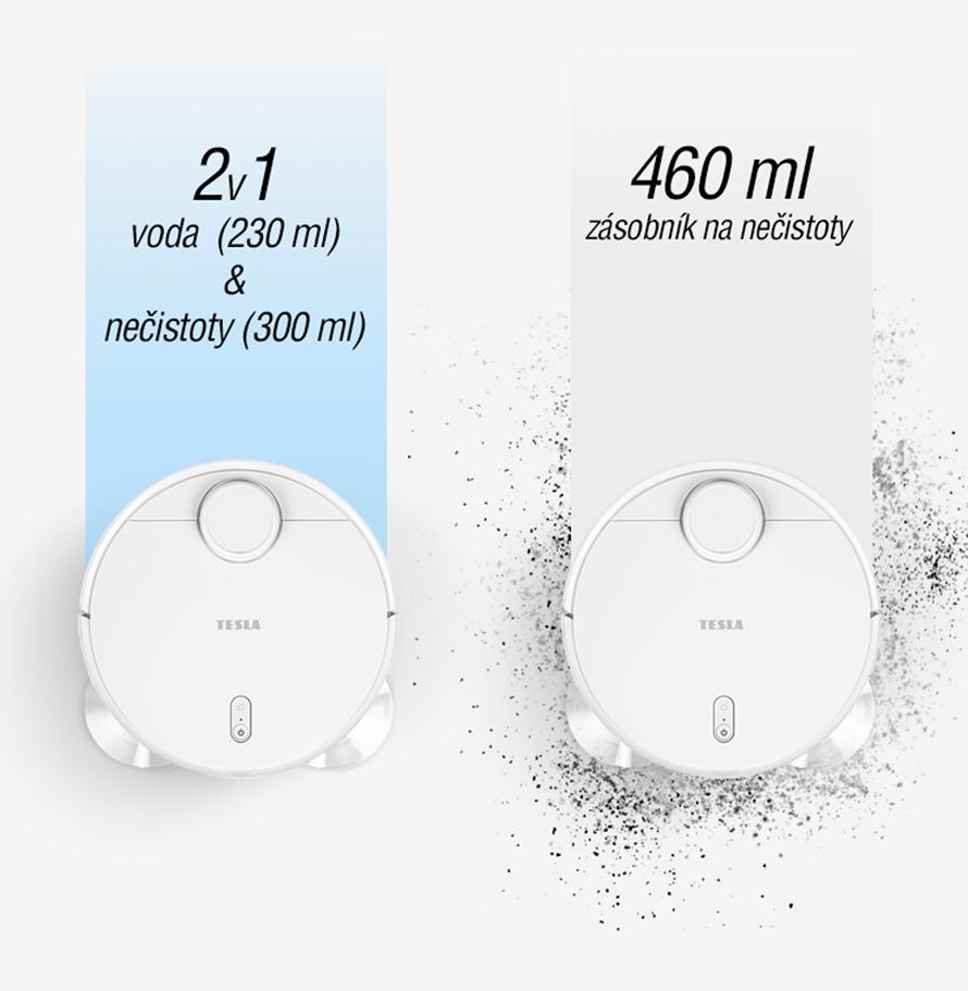 Tesla RoboStar iQ600 elektronicky řízená regulace vody