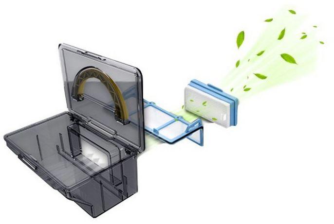filtrace TESLA RoboStar T10