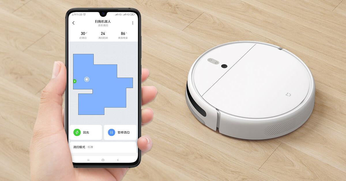 Xiaomi Mi Robot Vacuum Mop 1C app