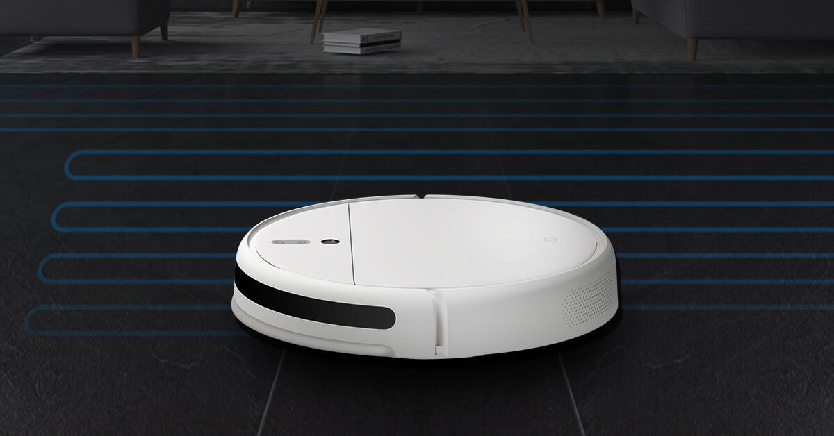 Xiaomi Mi Robot Vacuum Mop 1C gyro navigace