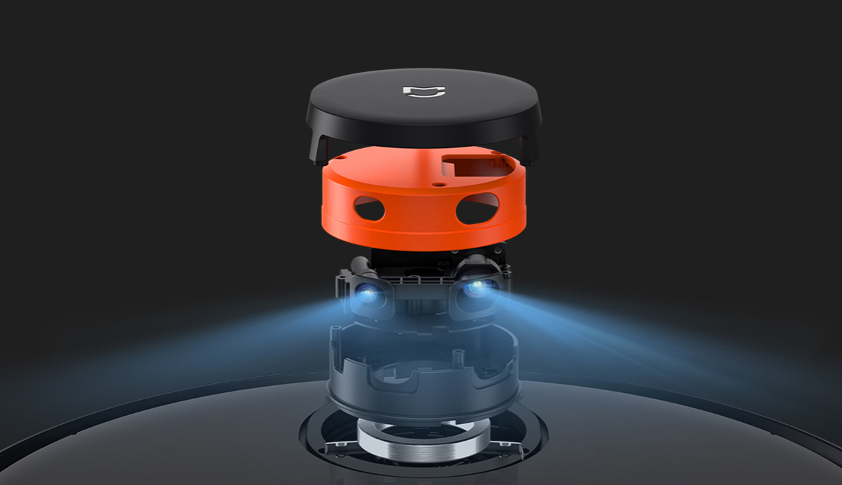Xiaomi Roborock S5 Max laser navigace