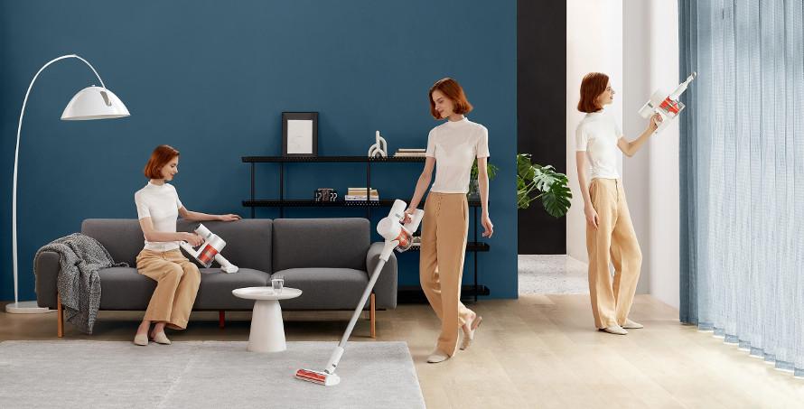 Xiaomi Mi Vacuum Cleaner G10 úklidové režimy