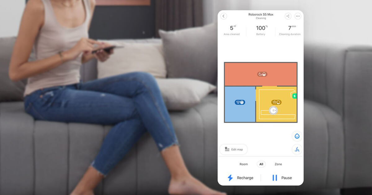 Xiaomi roborock s5 max app