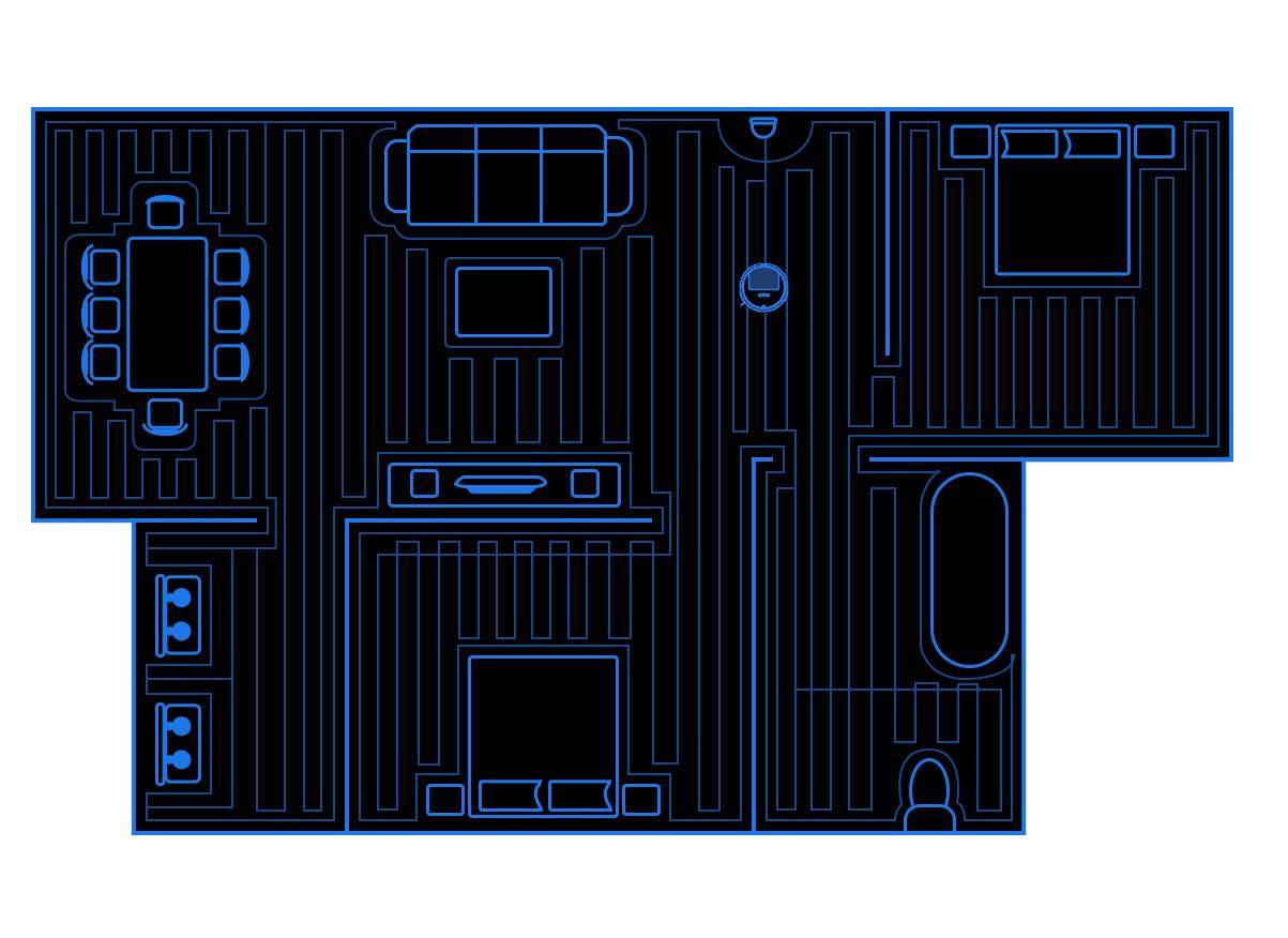 Xiaomi gyroskopická navigace