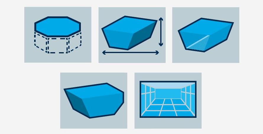 Zodiac CNX 20 typy bazénů